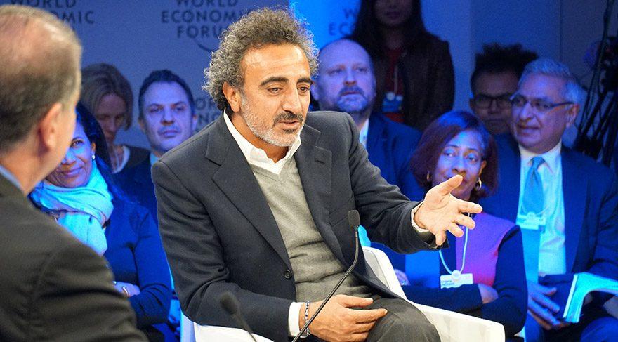 Hamdi Ulukaya Davos'ta konuştu