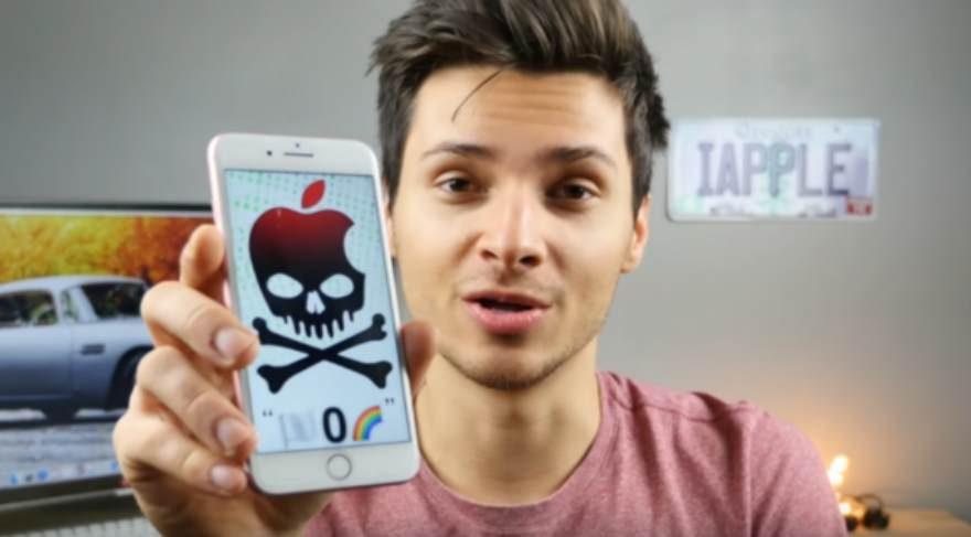 iPhone'lar bir mesajla çökebilir!