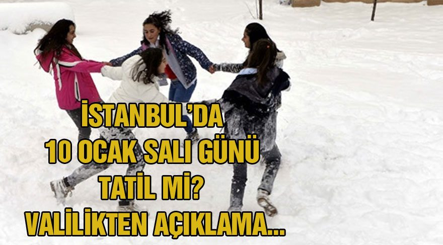 10 Ocak Salı günü İstanbul'da okullar tatil olacak mı? İşte Vali Vasip Şahin'den İstanbul'da kar tatili açıklaması
