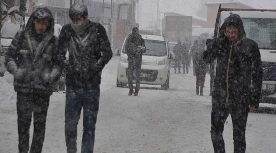 Kar ne zamana kadar devam edecek? Yarın okullar tatil olacak mı? (HAVA DURUMU 9 OCAK)