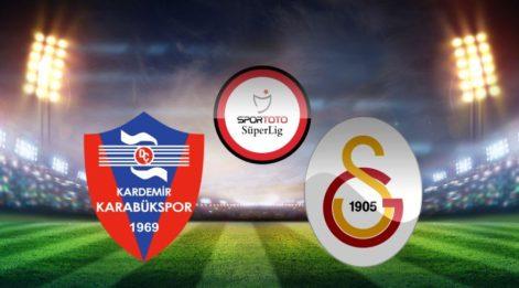 Karabükspor Galatasaray maçı canlı izle: Bein Sport şifresiz izle