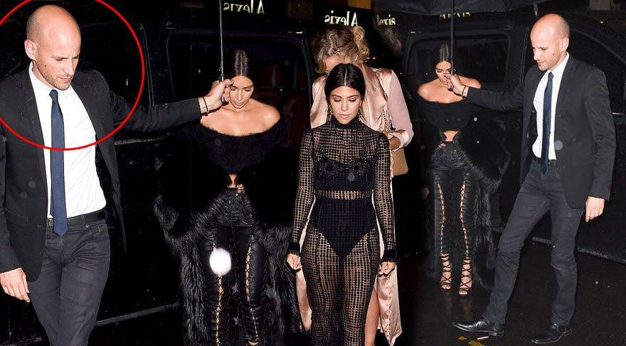 Kim Kardashian'ın soyguncusu şoförü çıktı!