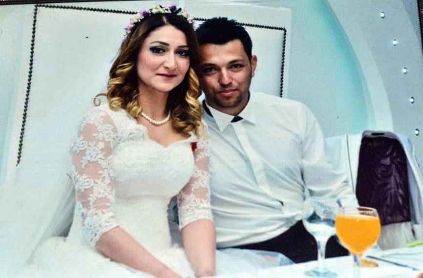 Muhammed Duran Keskin kendi gibi astsubay olan Gökçe Keskin ile geçen yıl evlenmişti.