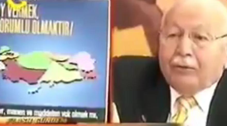 AKP'nin 'Hocamız' dediği Erbakan'ın yıllar önceki 'AKP' uyarısı: Ülke bölünsün istiyorsan AKP'ye oy ver!