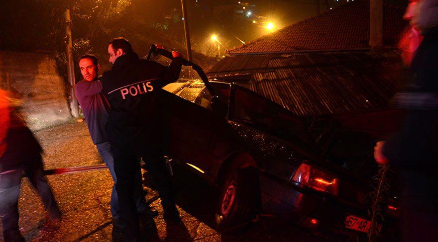 İmece usulü şoför kurtarma operasyonu