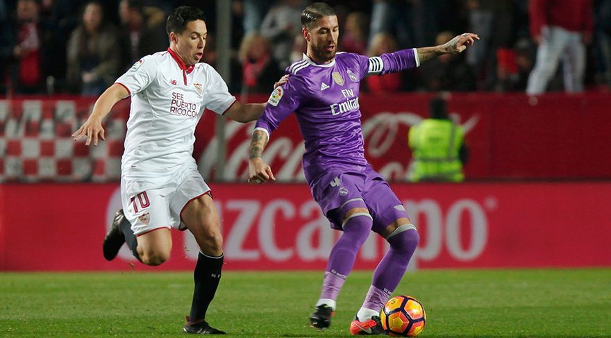 Sevilla Real Madrid maç özeti izle Real in rekoruna Sevilla