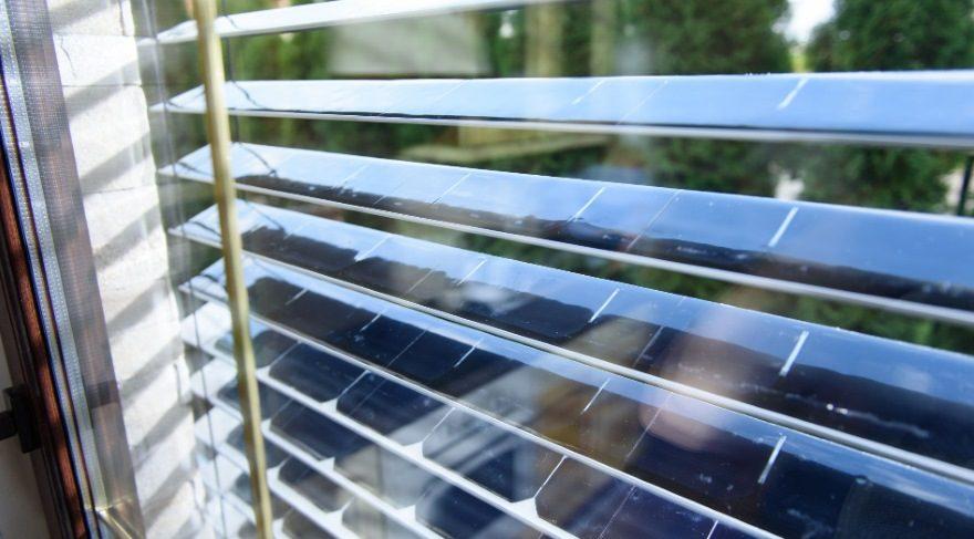 Güneş enerjisi ile elektrik üreten jaluziler faturanızı hafifletebilir