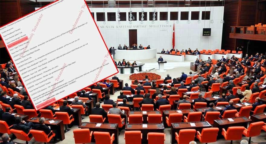 TBMM'de AKP'liler sahte pusula verdi, meclisi kapattırdı!