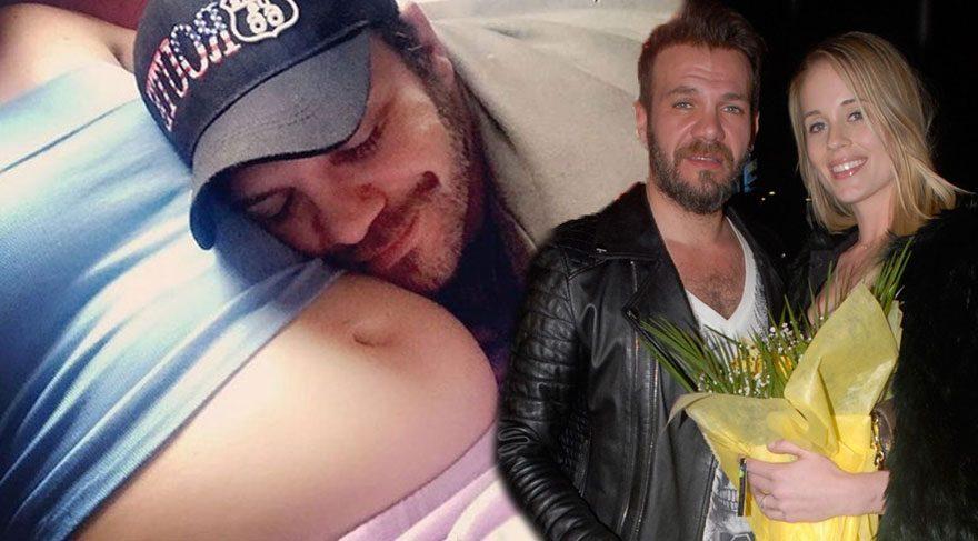 Tolga Karel, kızına hamile olan eşiyle fotoğraf paylaştı