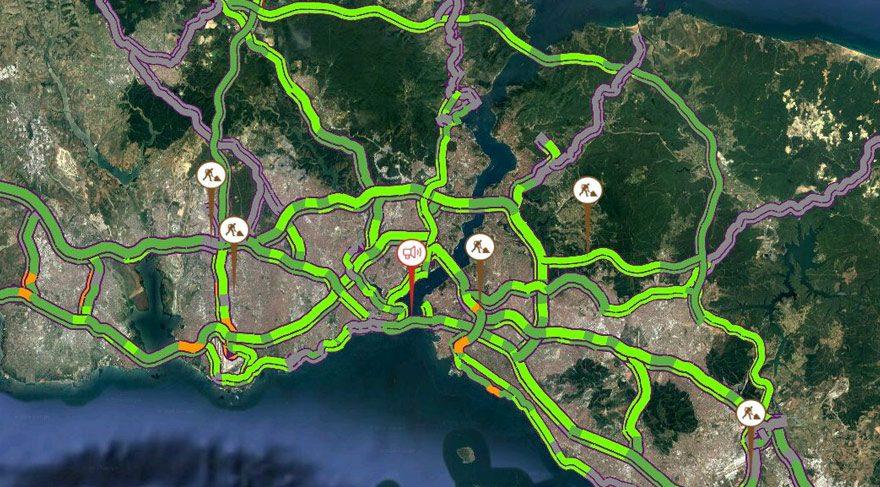 Hava durumu... İstanbul'da kar yağışında son durum