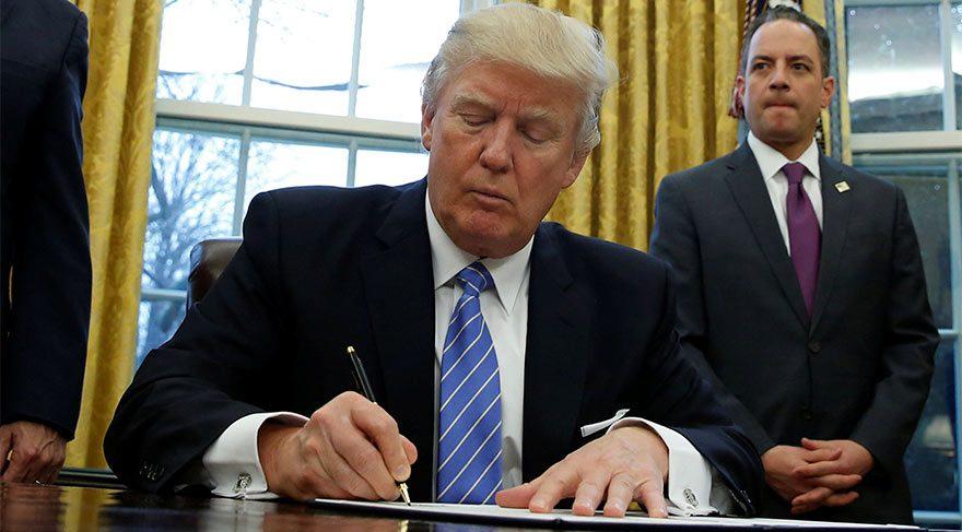 Trump'dan flaş karar! O ortaklıktan ayrıldı