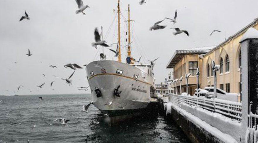 Son dakika haberi… Vapur, deniz otobüsü, gemi seferleri iptal!