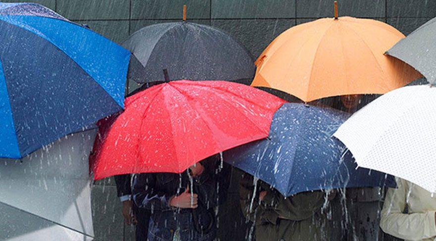 Son dakika haberi Meteoroloji den şiddetli yağış uyarısı