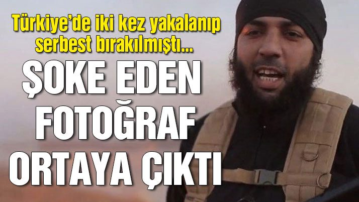 IŞİD'li Aydın'ın gözaltı fotoğrafı ortaya çıktı