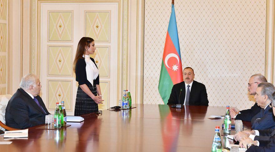 Aliyeva Cumhurbaşkanı Yardımcılığı'nı böyle kabul etti