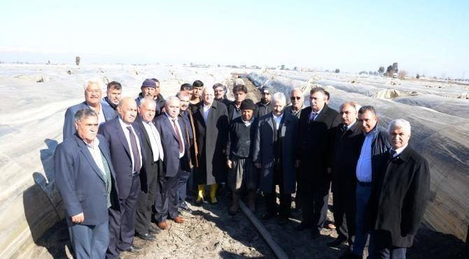 Bayraktar: Afetlerin Mersinli çiftçiye faturası 175 milyon lira