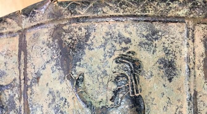 Asurlu'lara ait 5 parça tarihi eser ele geçirildi