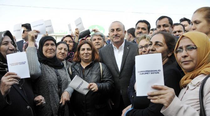 Bakan Çavuşoğlu'dan 'hayır'a ambargo