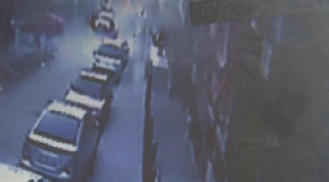 Küçükçekmece'deki cinayet anı güvenlik kamerasında
