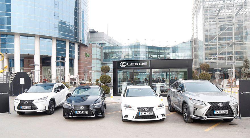 Lexus'tan rekor satış