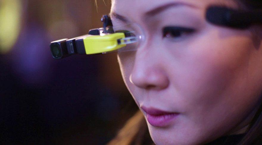 İş dünyasında devrim yaratacak gözlük Dünya Mobil Fuarı'nda