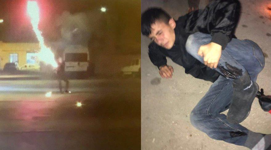 Polise havai fişekle saldıran çocuk sanığa 12 yıl hapis