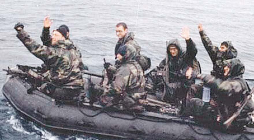 Tarih 31 Ocak 1996... SAT komandosu Ali Türkşen ve Kardak kahramanları...