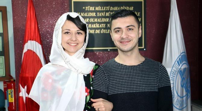 Ukraynalı gelin Müslüman oldu