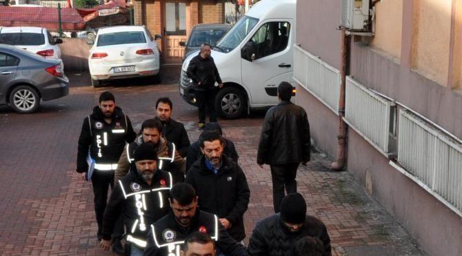 Bartın'da FETÖ'ye 7 tutuklama
