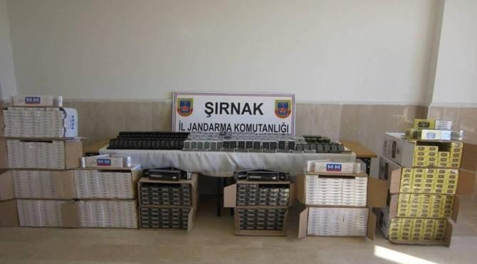Şırnak'ta 6 milyon değerinde kaçak mazleme ele geçirildi