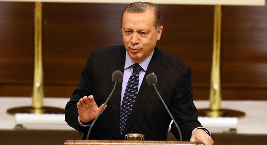 Erdoğan Ak Saray'da turizmcileri ağırladı
