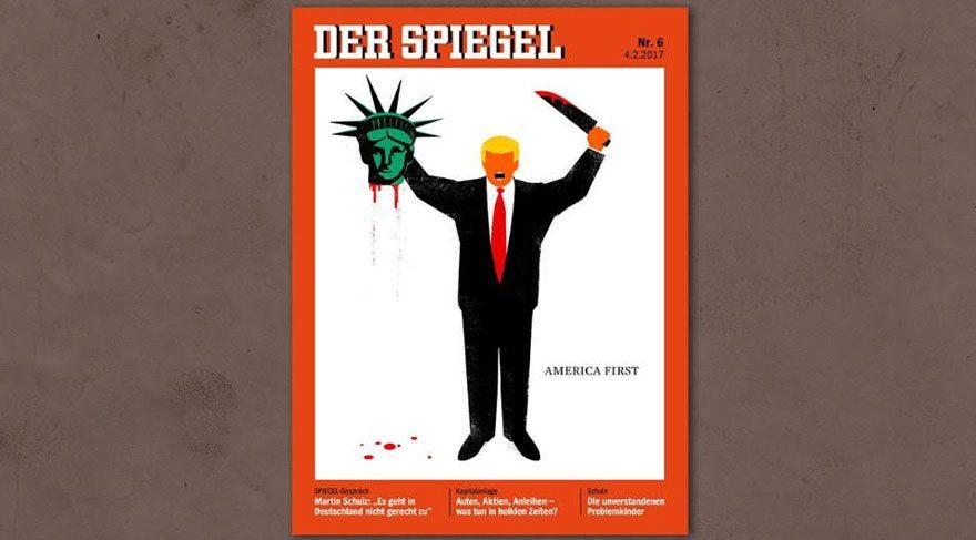 Der Spiegel'den olay kapak