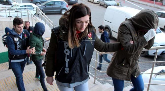 Zonguldak'ta uyuşturucuya 4 tutuklama