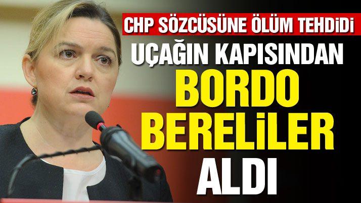 CHP'li Böke'ye ölüm tehididi