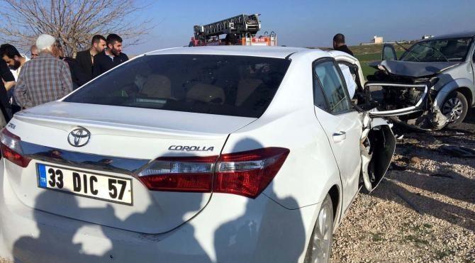 Nusaybin'de trafik kazası: 6 kişi yaralandı
