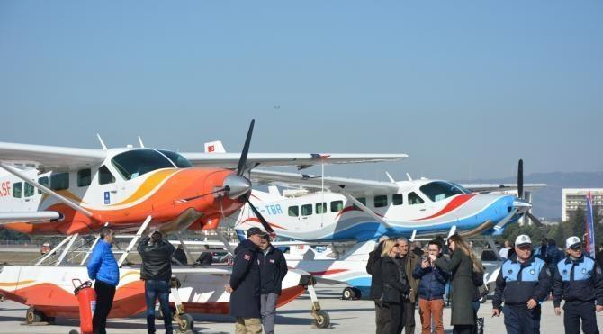 Bursa'da Yunuseli Havaalanı 16 yıl sonra uçuşlara açıldı