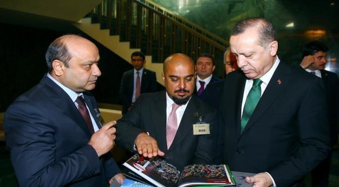Cumhurbaşkanı Erdoğan'a 'Foto Muhabiri' dergisi