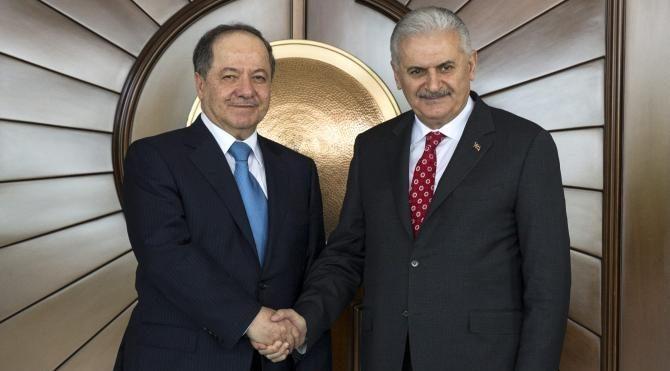 IKBY Başkanı Barzani, Çankaya Köşkü'nde (2)