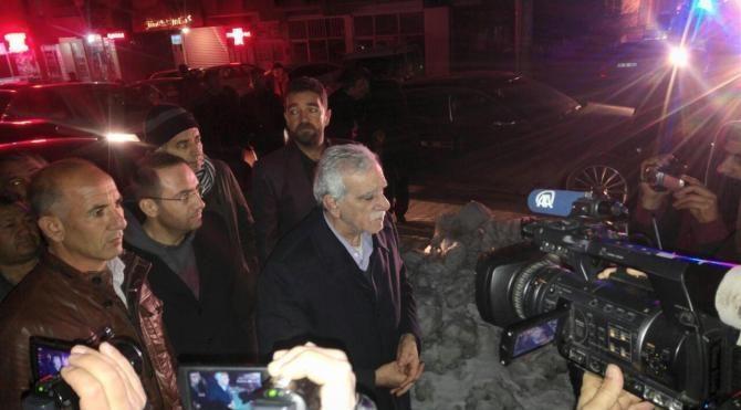 Ahmet Türk, Mardin'deki evine gece yarısı geldi