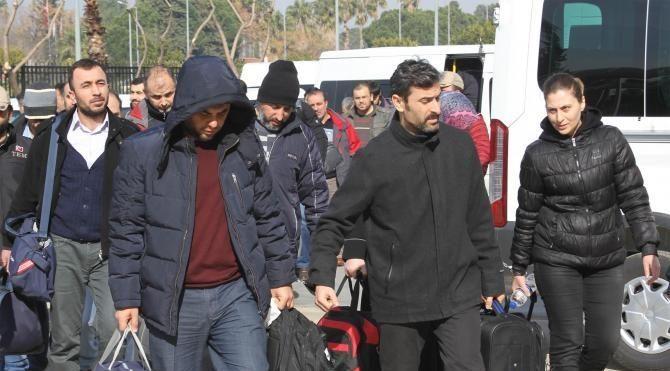 Antalya'da FETÖ'den 31 emniyet personeli adliyede