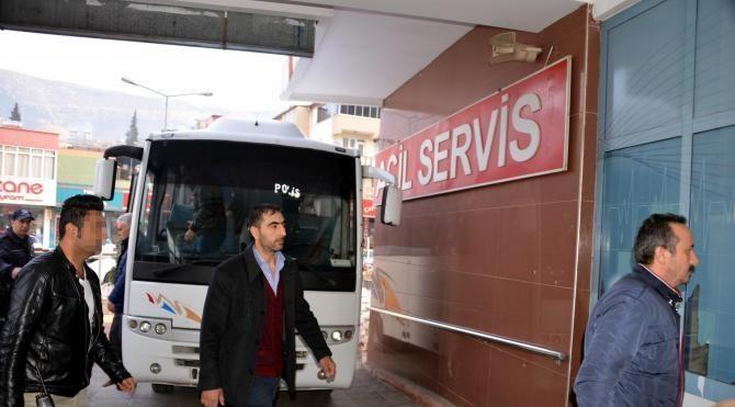 Kahramanmaraş'ta FETÖ şüphelisi 13 öğretmen adliyede