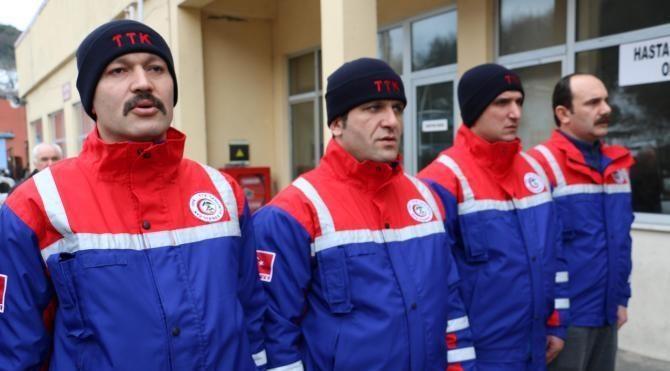 Madenciler 'Beyaz Melekler' kurtarma ekibi kurdu
