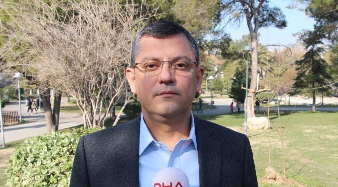 CHP'li Özel: Türkmen, Meclis Başkanlık Divanı'ndan istifa etti
