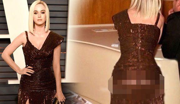 Katy Perry Oscar töreninde frikik verdi!