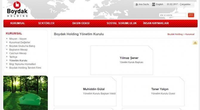 Boydak Holding yönetimde değişiklik