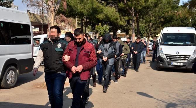 'Sosyete torbacıları'na operasyon: 18 gözaltı