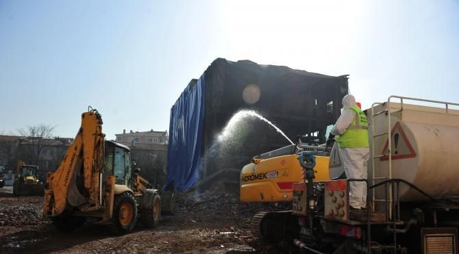 Asbestli Havagazı Fabrikası'nın yıkımında çevre sağlığı uyarısı (2)