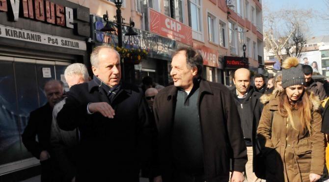 CHP'li İnce'den esnafa 'hayırlı işler'