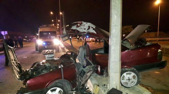 Denizli'de kaza: 1 ölü, 5 yaralı
