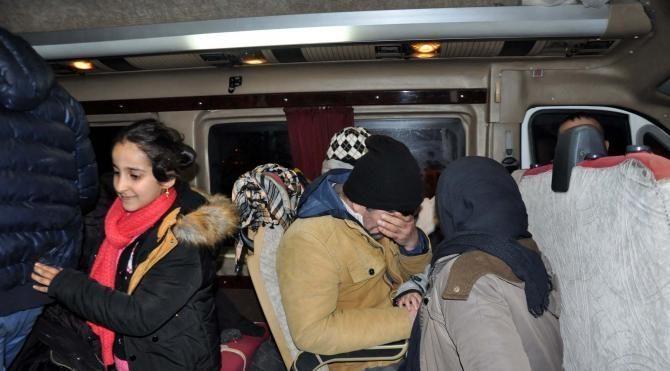 Ayvacık'ta 22 kaçak yakalandı